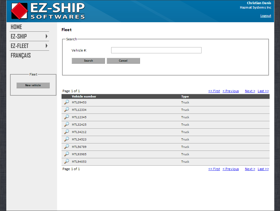 Hazmat placard calculator for transport and freight industry - EZ